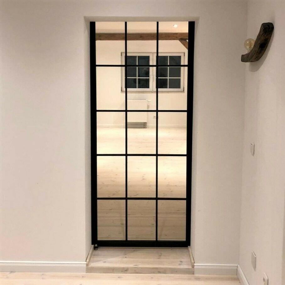 Stahl Loft Tür
