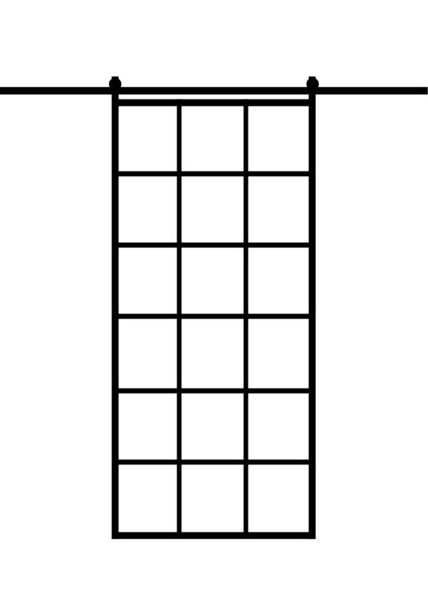 Loft Schiebetür 1000 x 2100