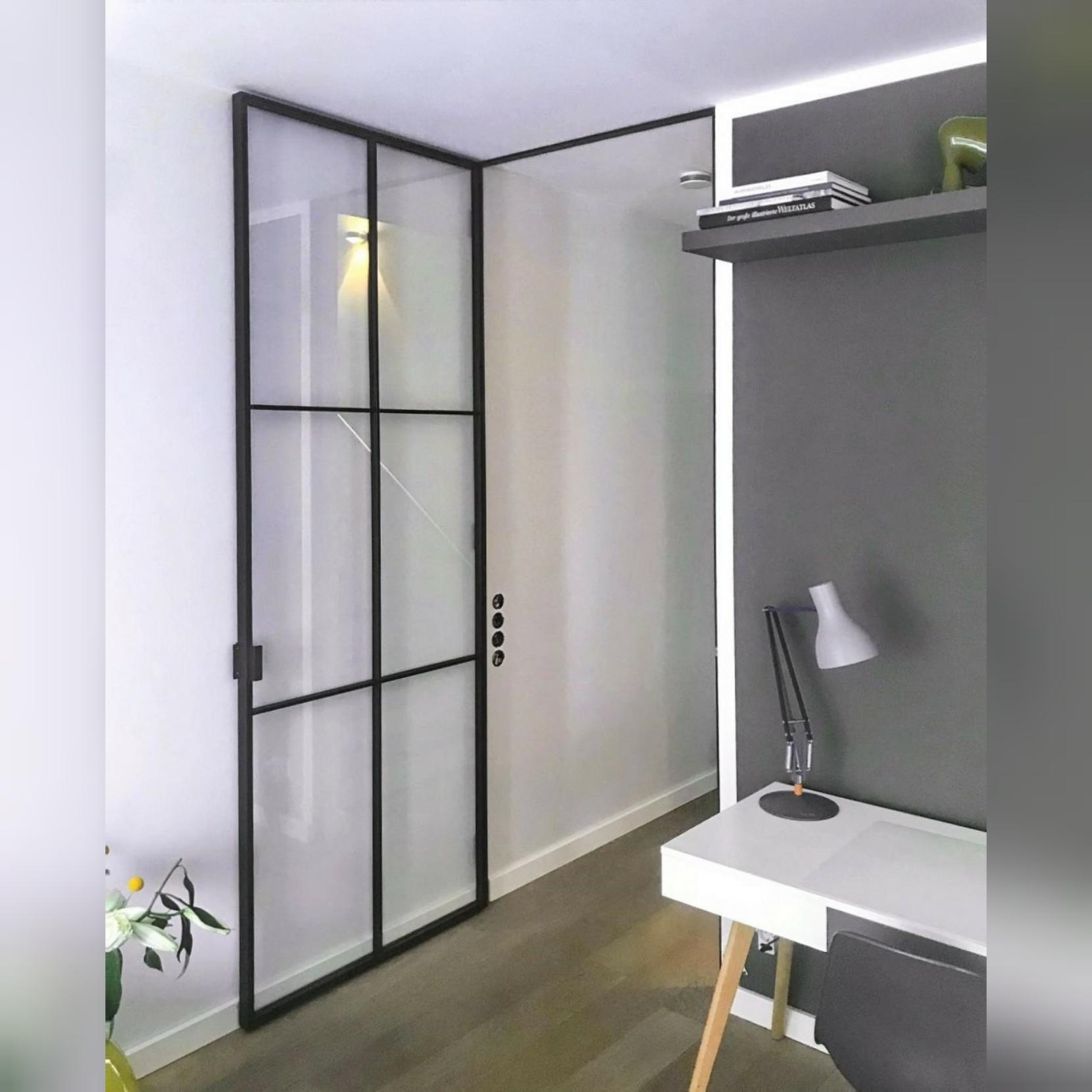 Loft Tür aus Glas in Hamburg