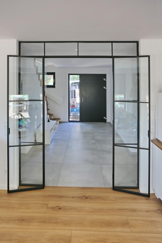 Doppeltür aus Glas in Hamburg
