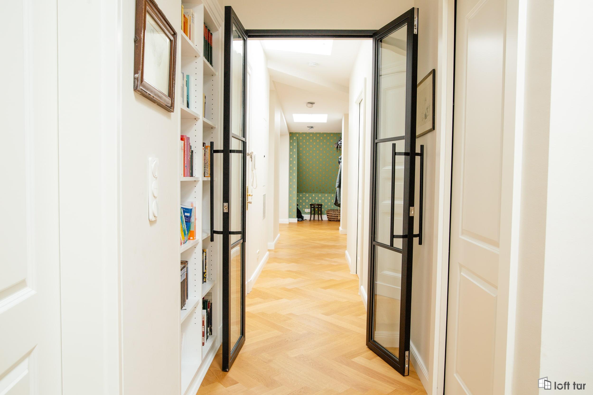 Loft Tür im Flur, Wohnbereich