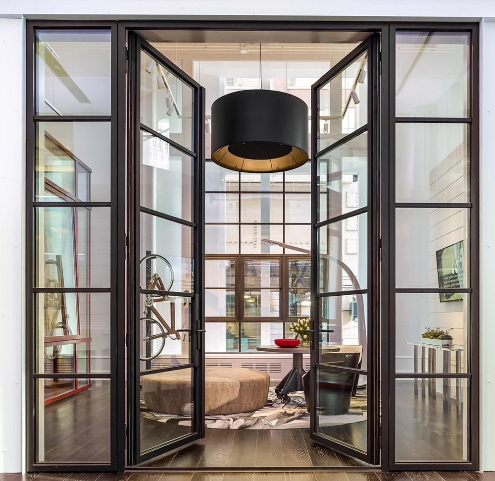 Loft Tür - Doppeltür Wohnzimmer