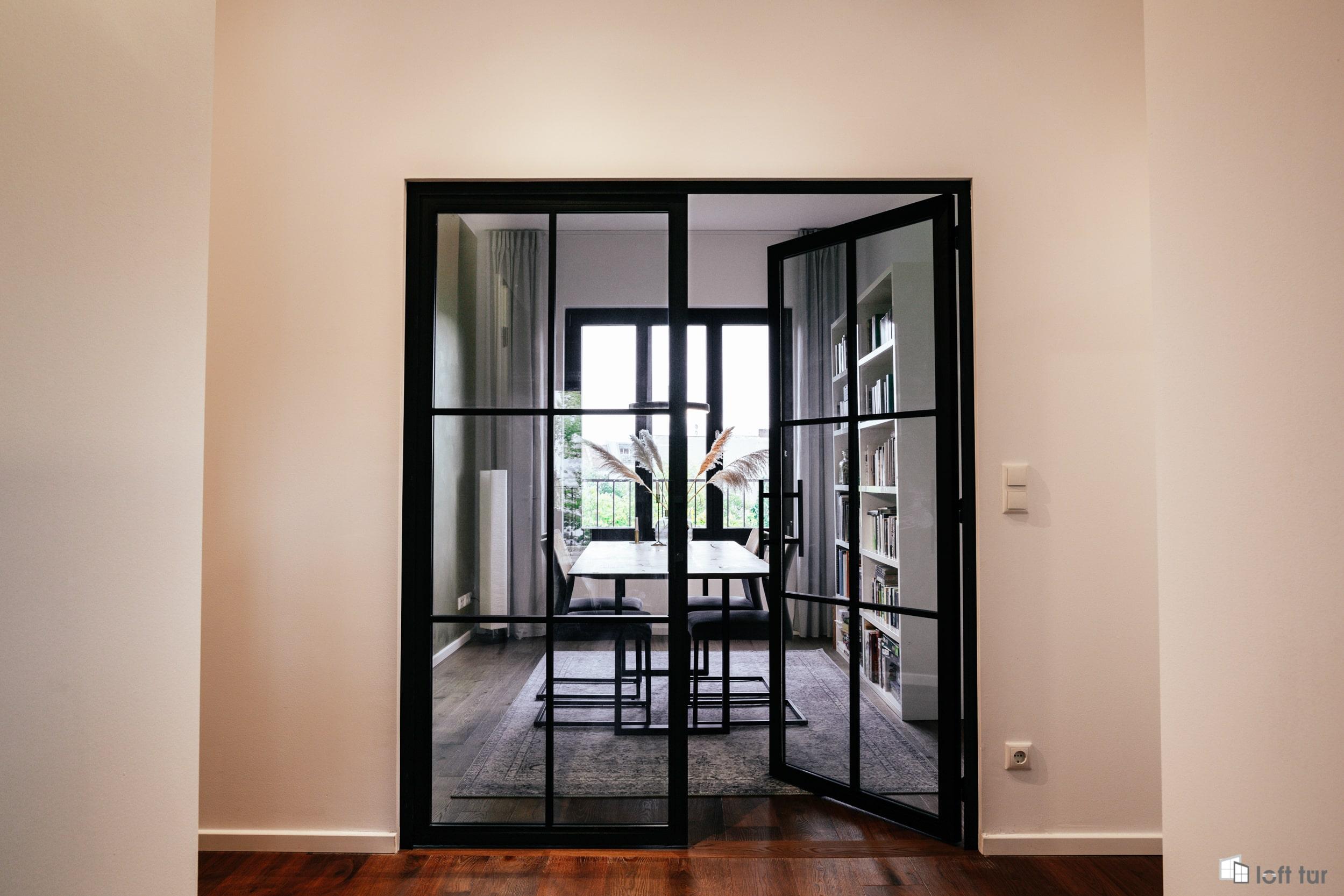 Doppeltür / Flügeltür im Loft Stil