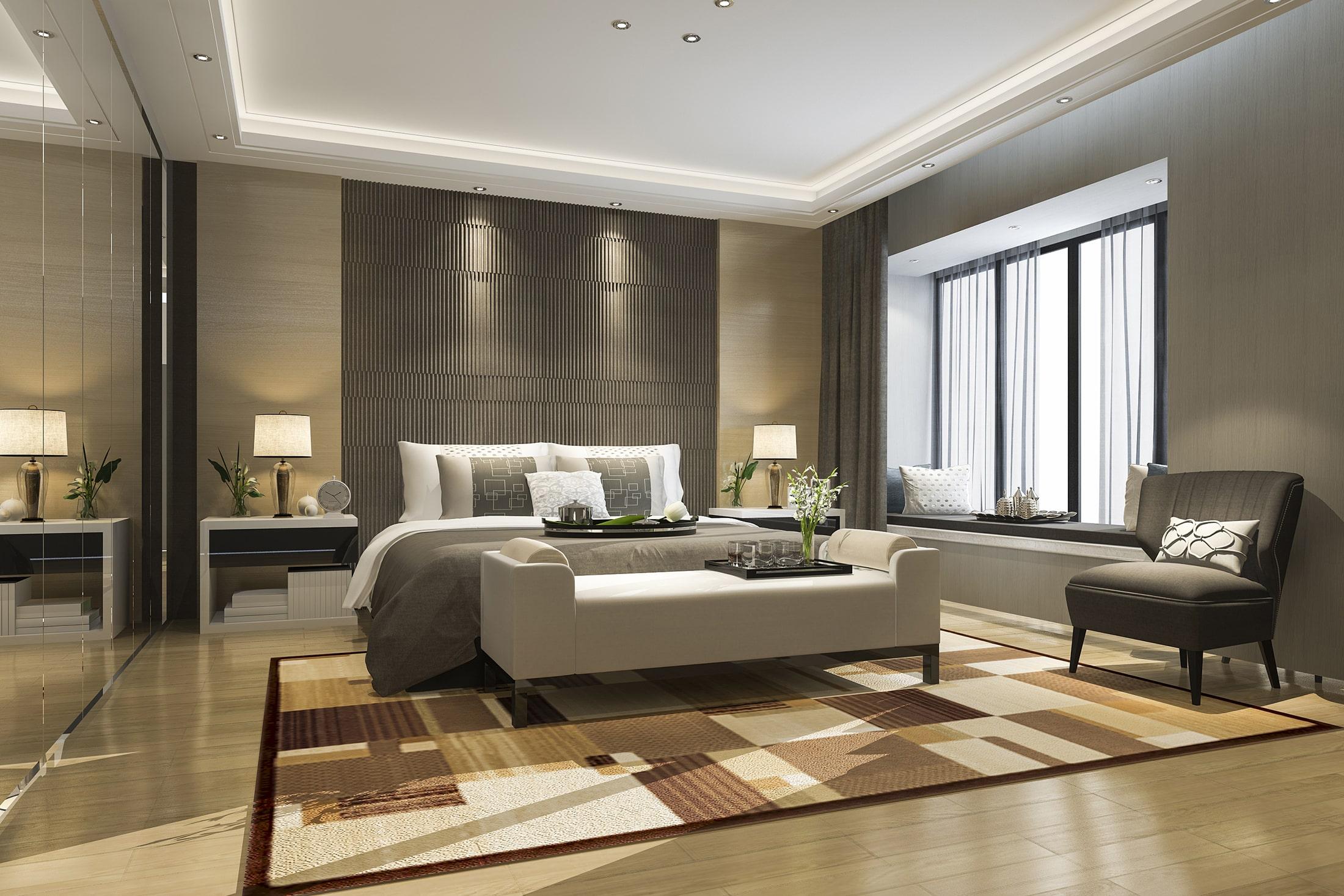 Loft Stil Hotel - Loft Türen für Hotelzimmer