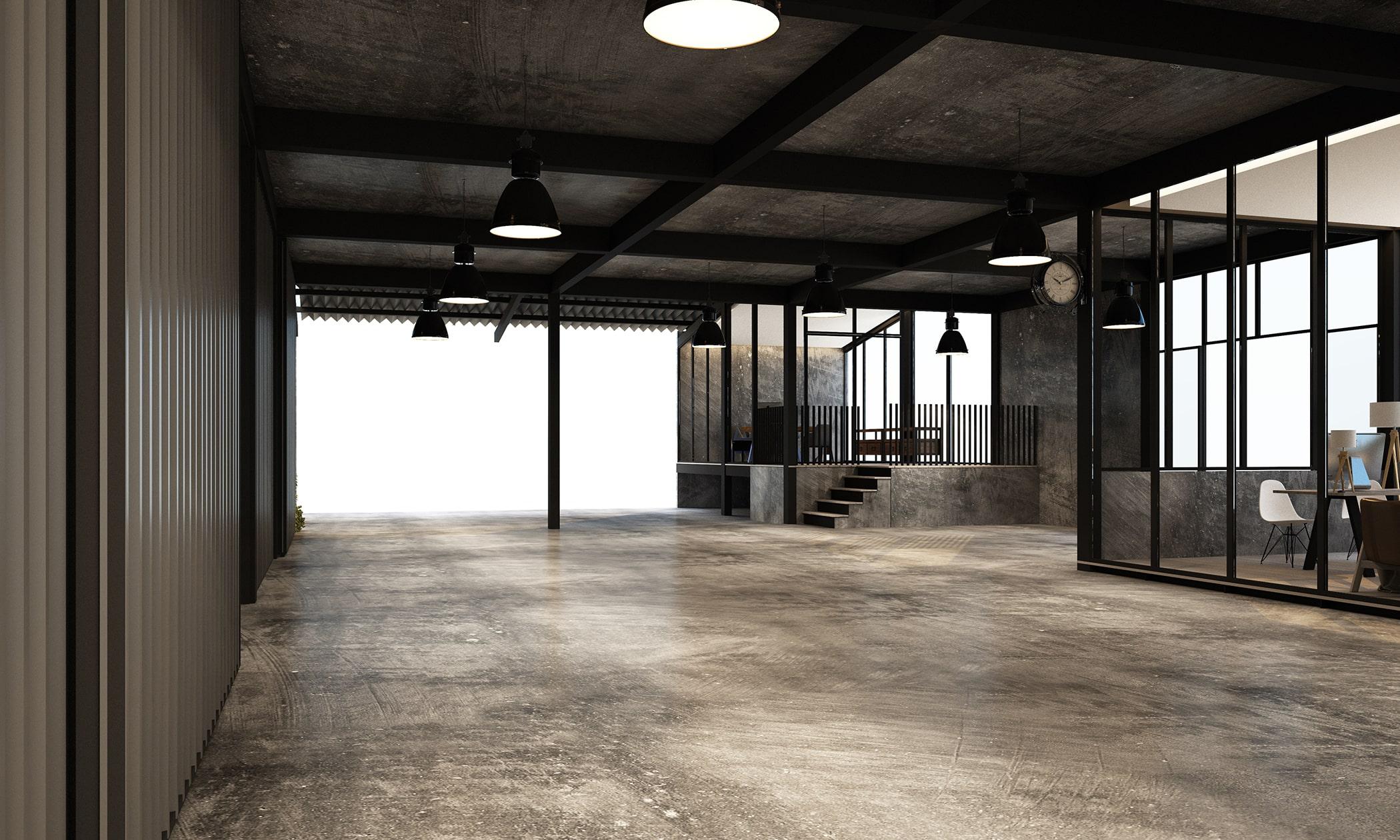 Loft Tür im Büro - Lagerhalle - Fabrik