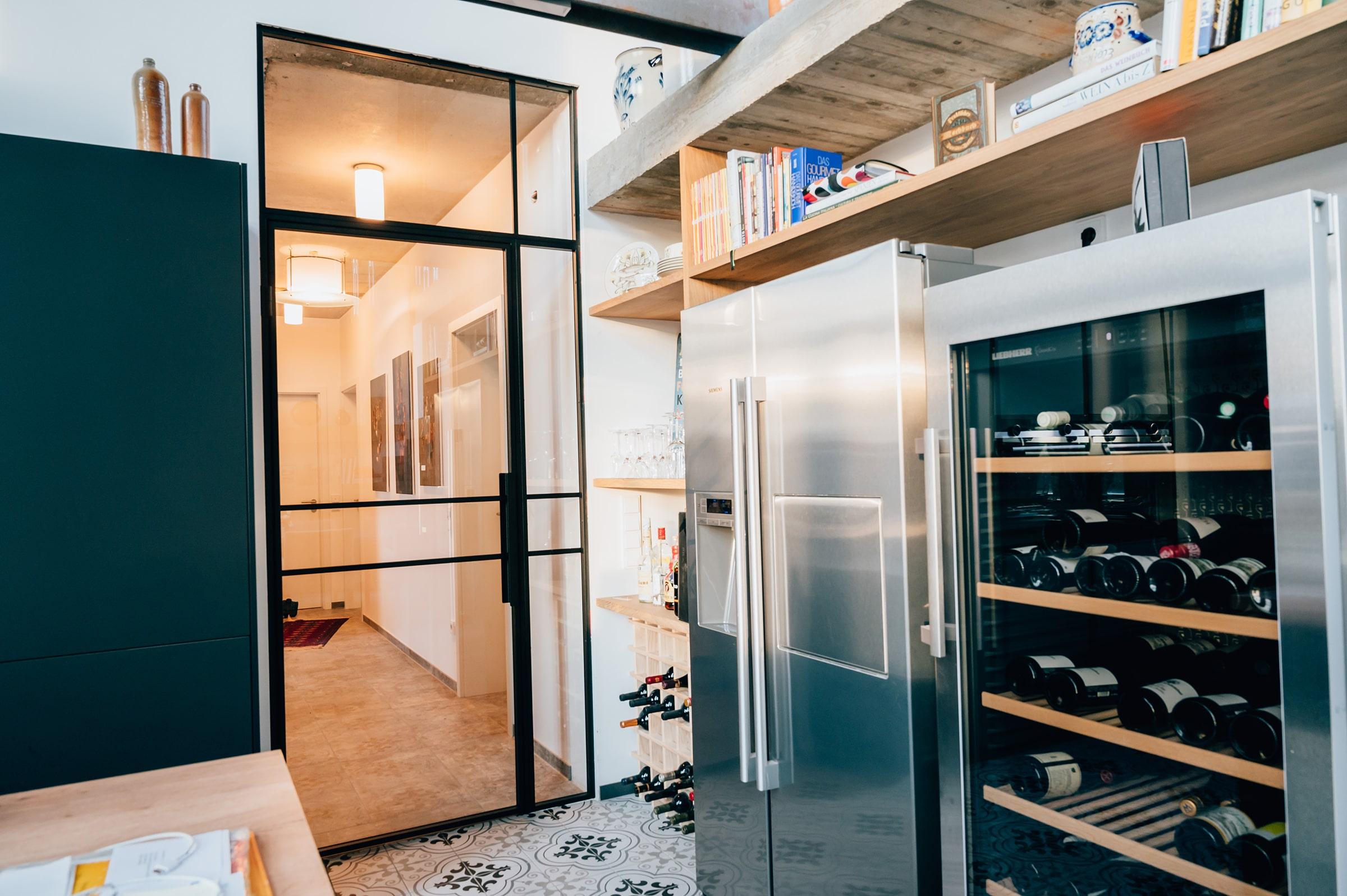 Loft Tür Küche, Flur und Treppenhaus