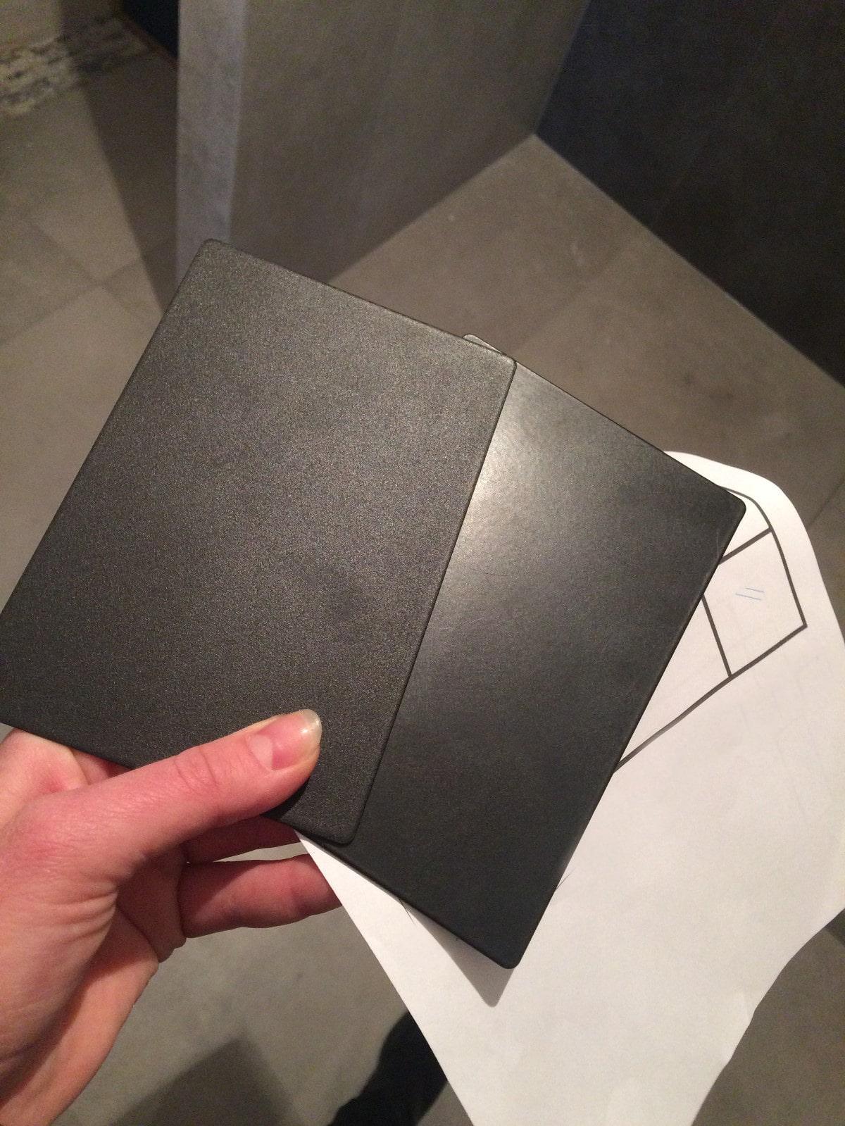 Loft Tür Oberfläche: Glatt und Struktur