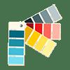 Türrahmen Farbe