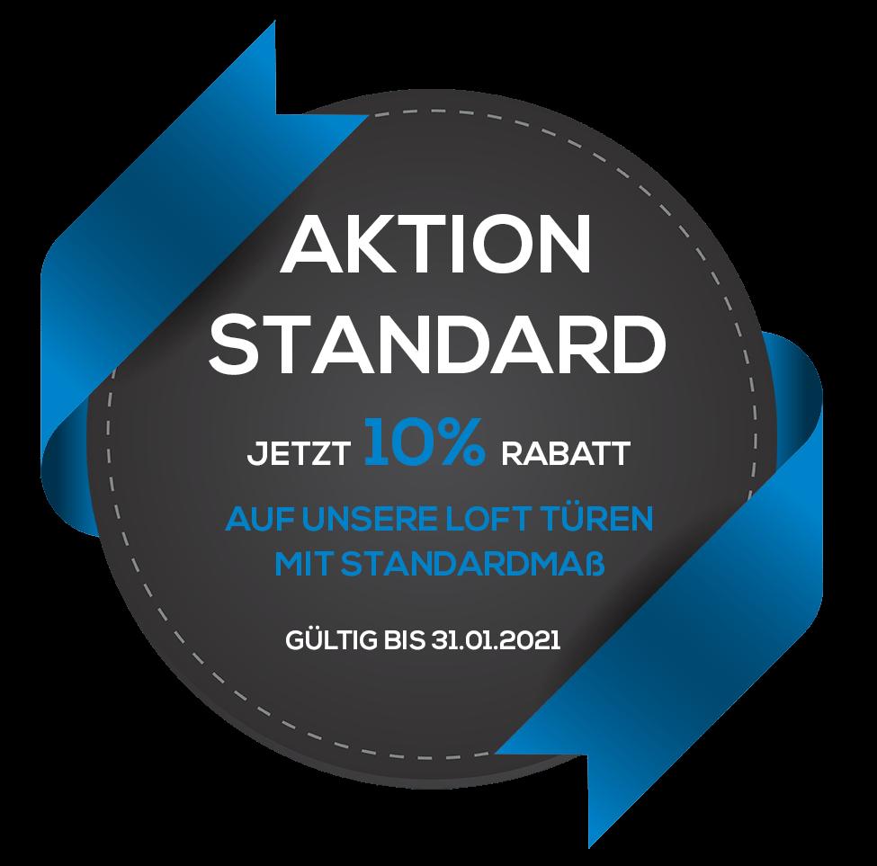 Aktion Standard: Loft Türen mit Standardmaßen im Angebot mit 10% Rabatt