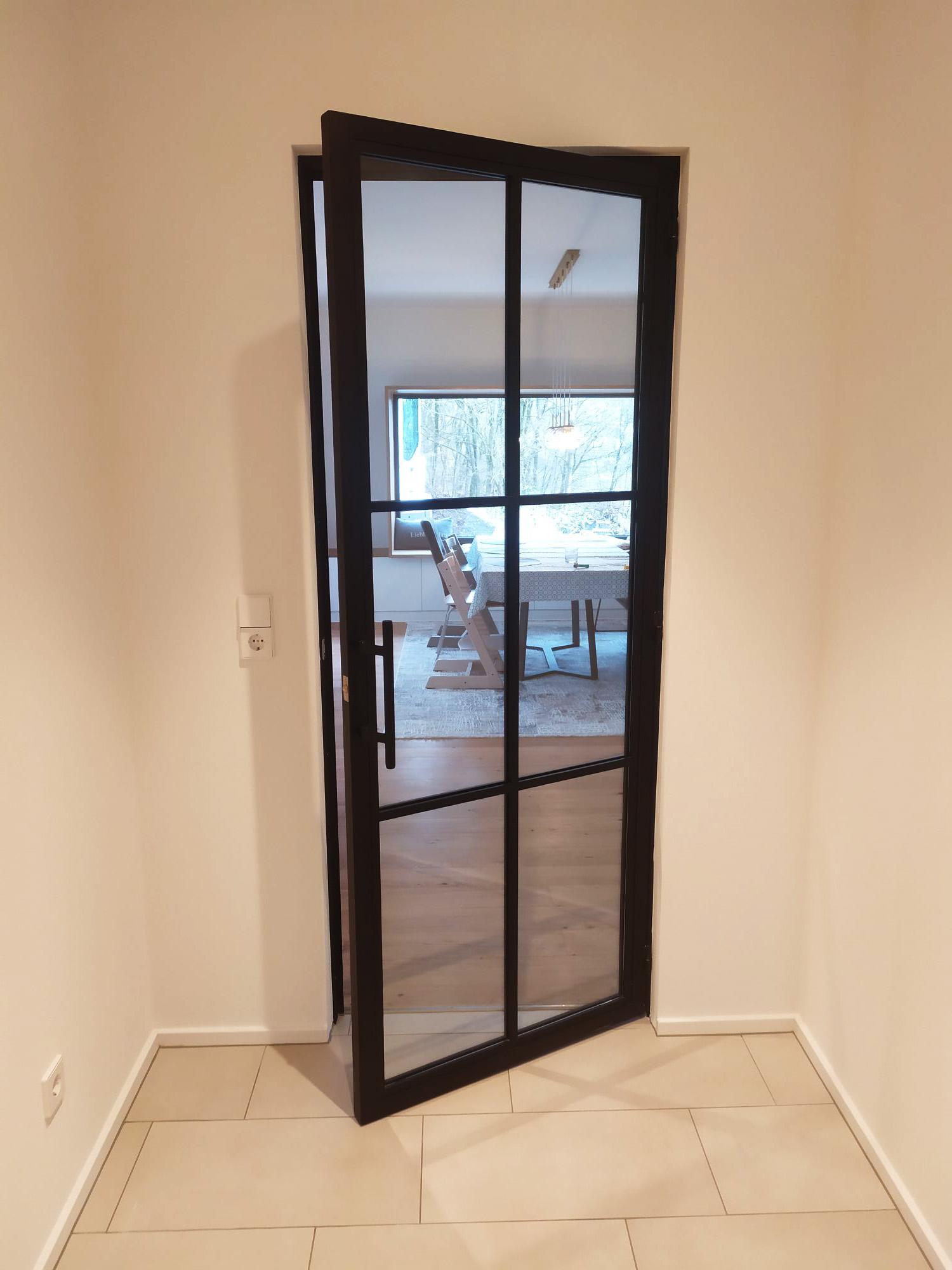 Stahl Glas Einzeltür Loft